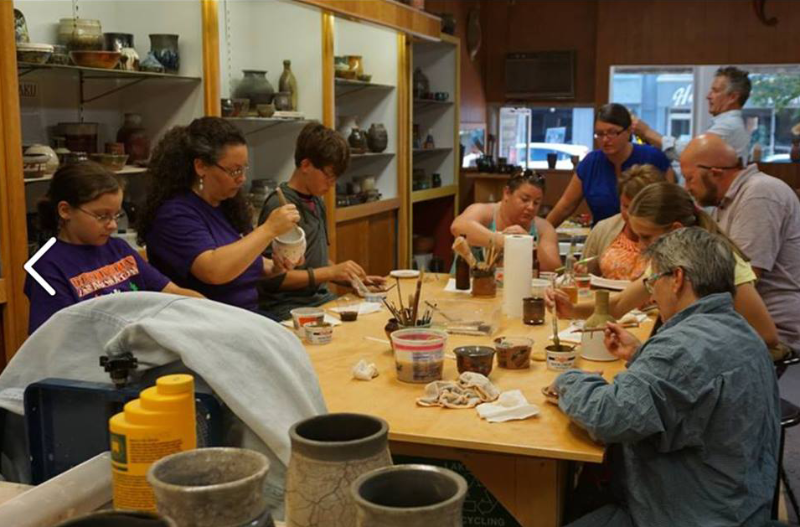 Clay-on-Steele-group-working