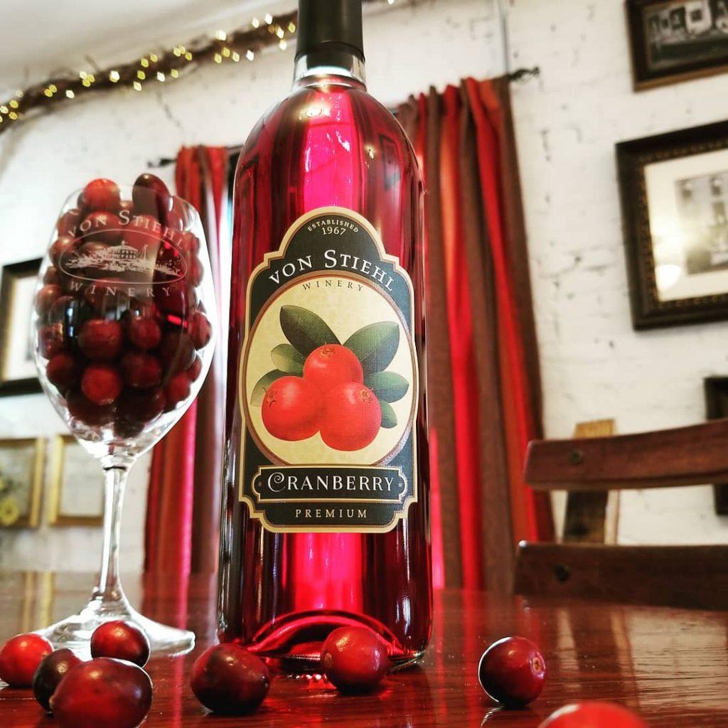 Von Stiehl Cranberry Wine