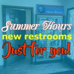 Algoma Visitor Center Installs New Restrooms