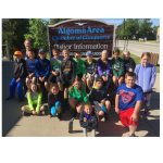 AES Summer Camp Class Visits the Chamber