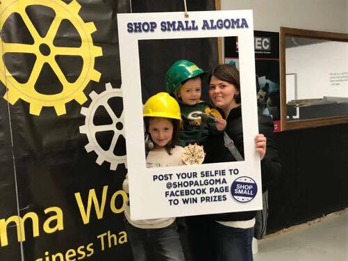 Algoma WI Shop Small Saturday 2018