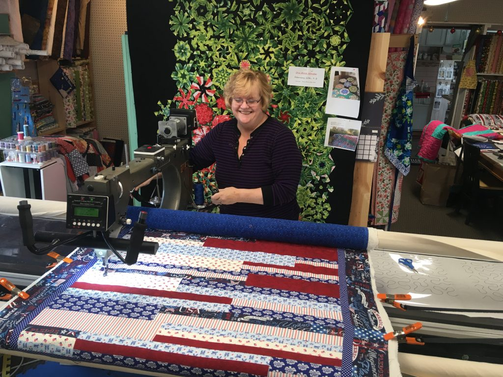 The Quilted Fish Donates Quilts To Veterans