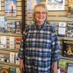 Welcome Sharon, Visitor Services and Volunteer Coordinator