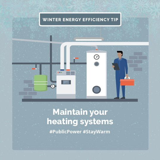 Maintain your heating systems