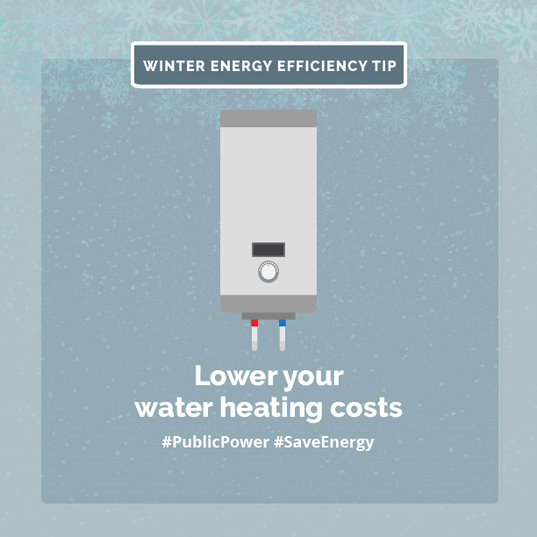 Lower your water heating costs