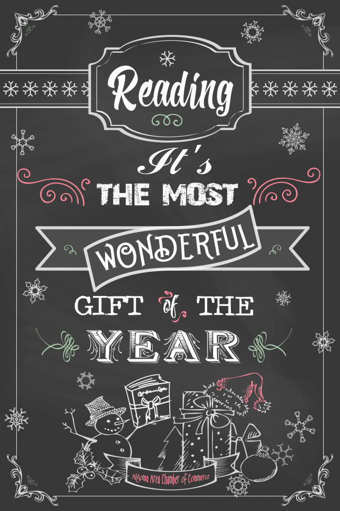 Reading is the most wonderful gift