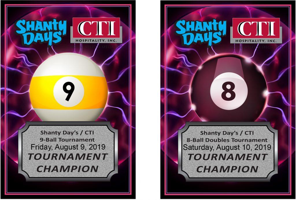 2019 Shanty Days Pool Tournament