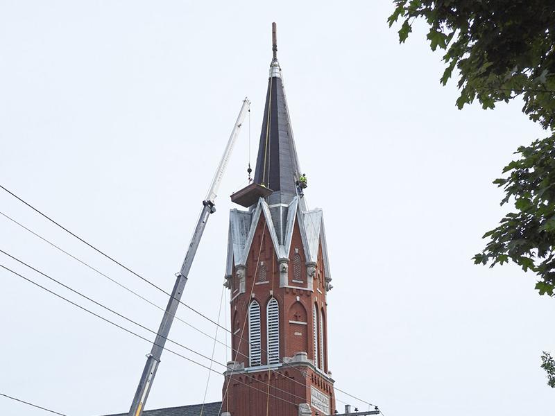 St. Mary Algoma Steeple