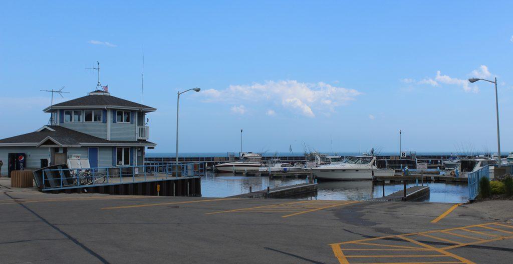 Algoma Marina Launch Ramps