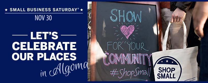 Algoma Small Business Saturday 2019