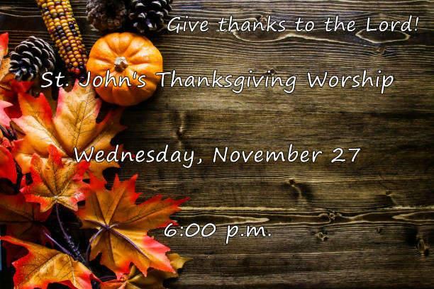 st-johns-thanksgiving-worship