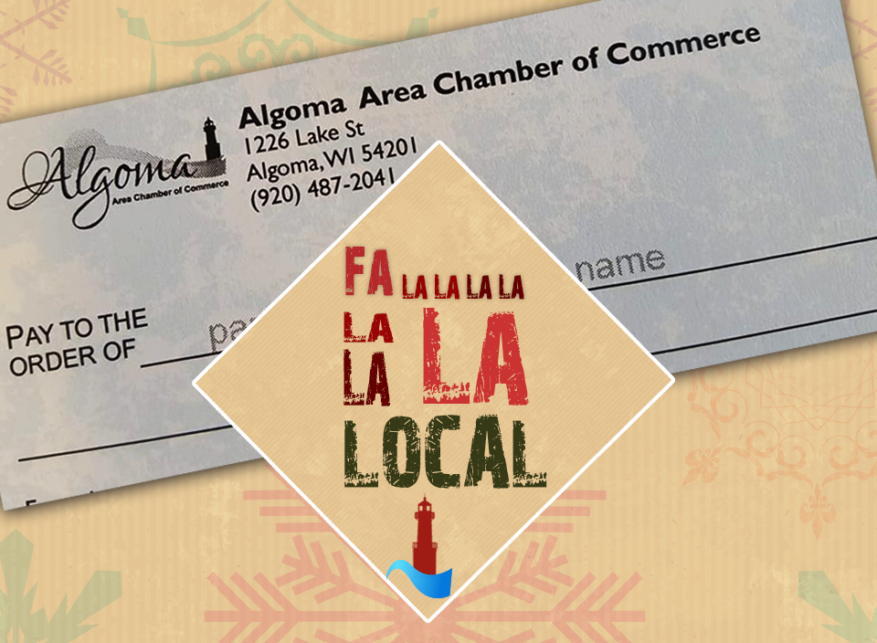 Algoma Area Chamber of Commerce Chamber Checks