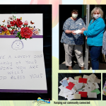 Algoma Visitor Center Volunteers Deliver Cards To Algoma Long Term Care Residents