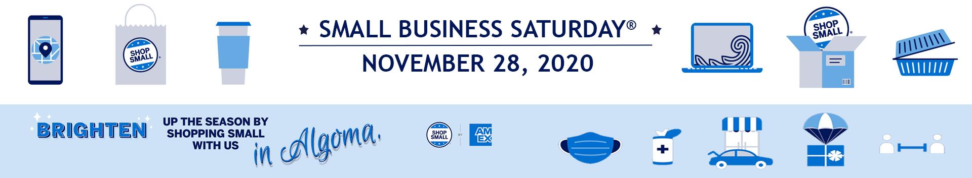 Algoma Area Chamber of Commerce Small Business Saturday 2020