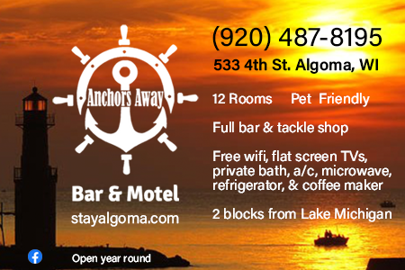 Anchors Away Bar & Motel Algoma, WI