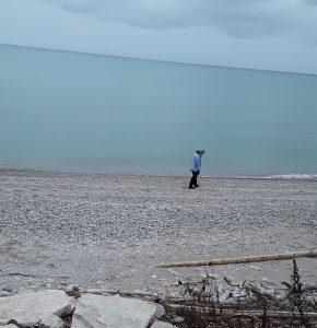 Annie on Crescent Beach