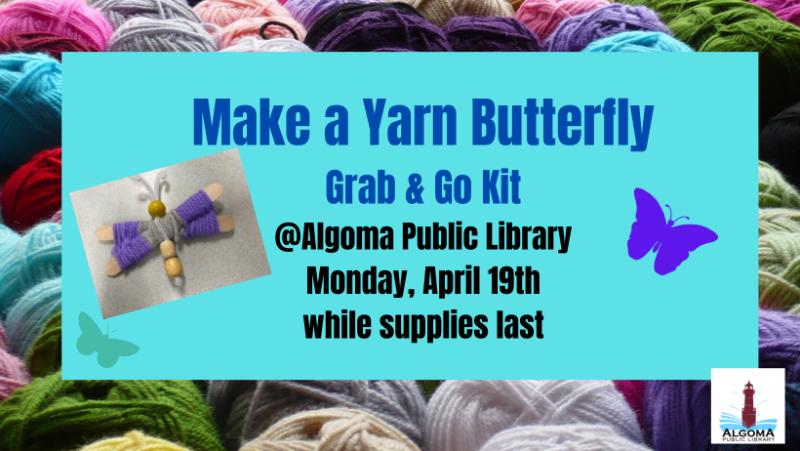 Yarn-Butterfly