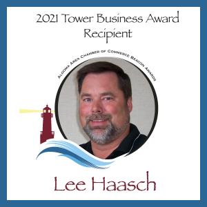 Lee Haasch, Tower Business Award