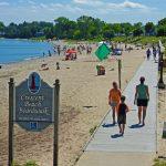 Crescent Beach Boardwalk, Algoma WI