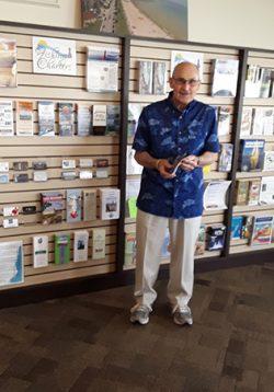 Algoma Visitor Center Volunteer Steve Mayheu