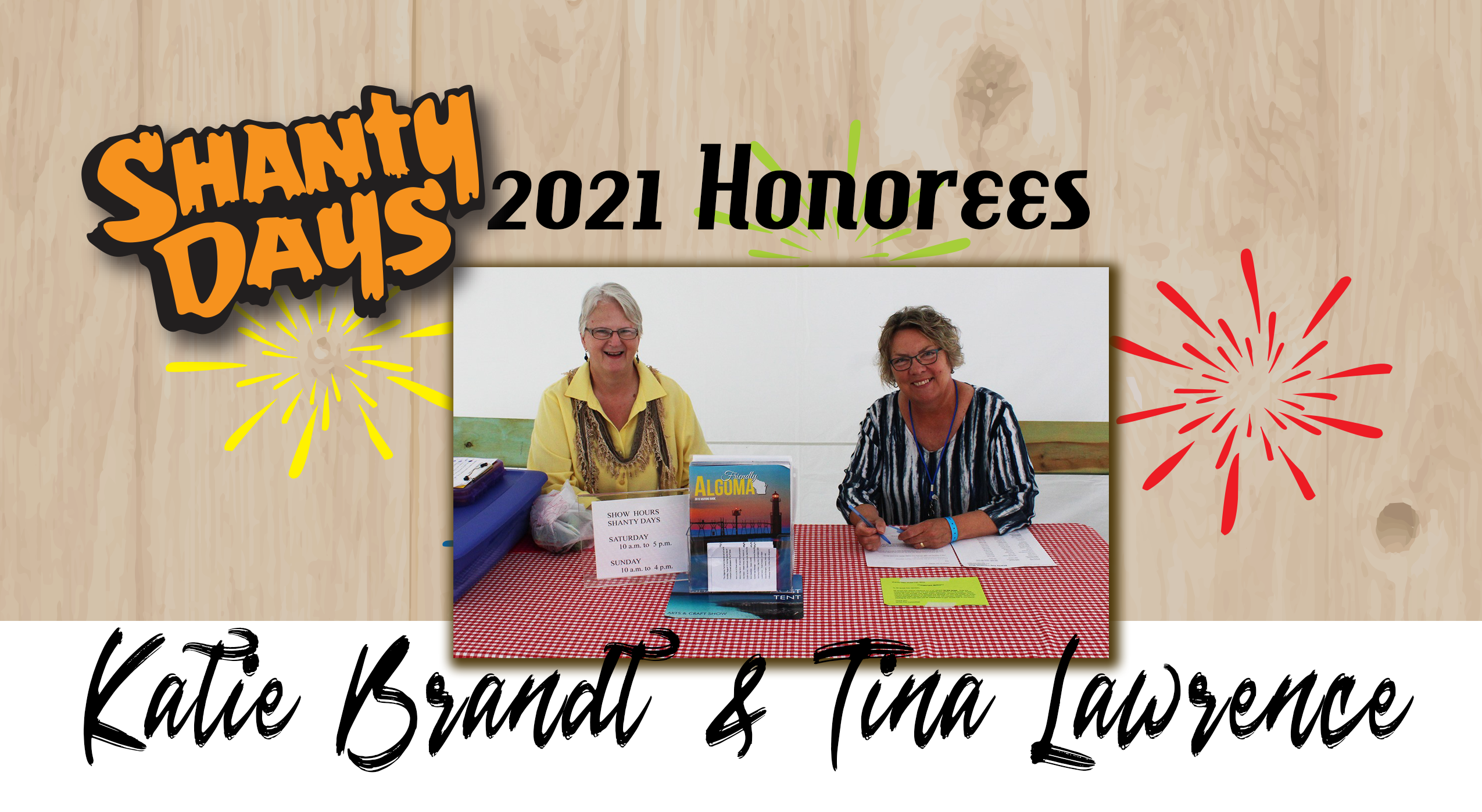 2021 Shanty Days Honorees Katie Brandt & Tina Lawrence