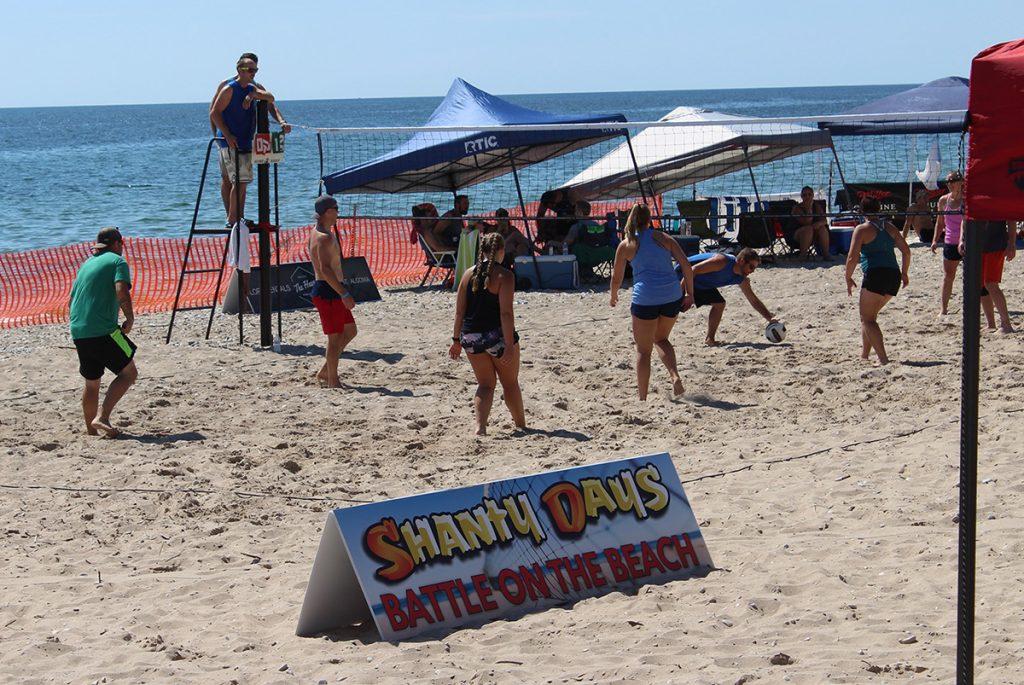 2021 Algoma Shanty Days Battle on the Beach Volleyball Tournament