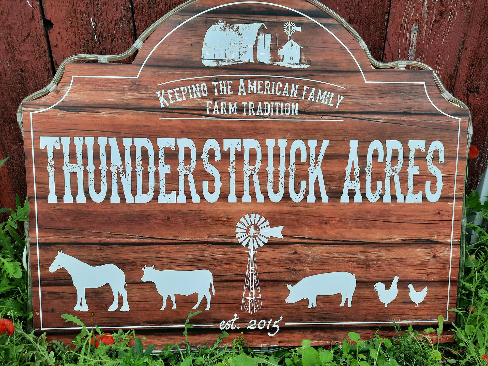 Thunderstruck Acres, Luxemburg, WI